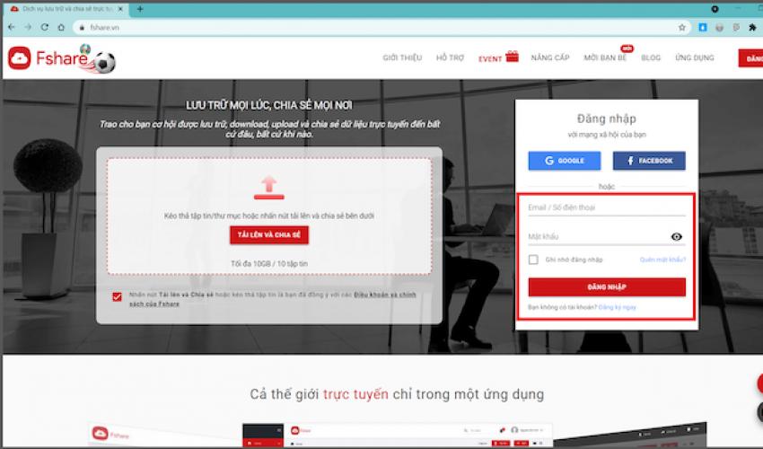 Cách đặt mật khẩu bảo vệ file và chia sẻ riêng tư trong tài khoản Fshare cực đơn giản