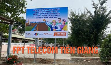 FPT Telecom Tiền Giang Phối Hợp Xã Tân Hoà Thành Tuyên Truyền Nông Thôn Mới Nâng Cao