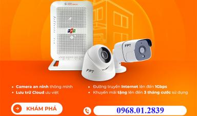 FPT Tiền Giang Khuyến Mãi Lắp Đặt Trọn Gói Wifi Tháng 04/2021